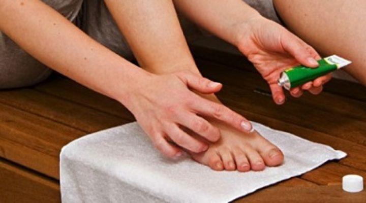Мази от грибка ногтей на ногах